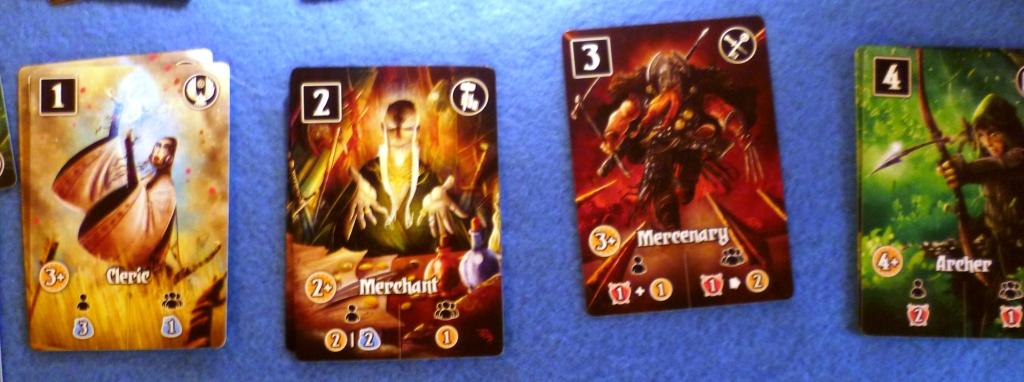 Cards from Valeria Card Kingdoms
