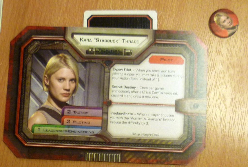 Player character card