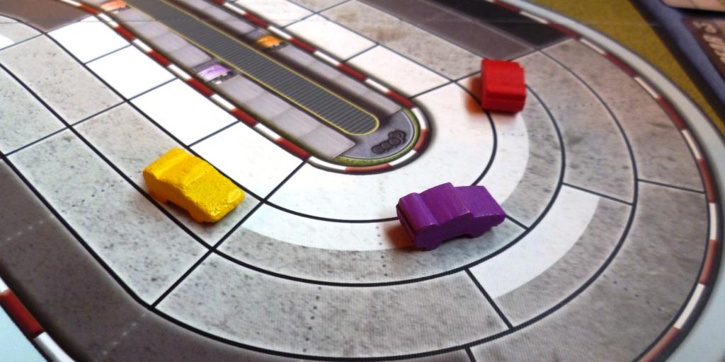 A close race on the penultimate lap