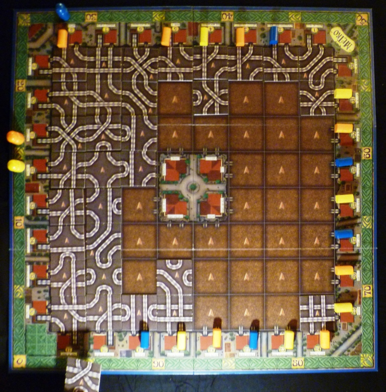 Metro in early stages (this is a library picture of a 3 player game)