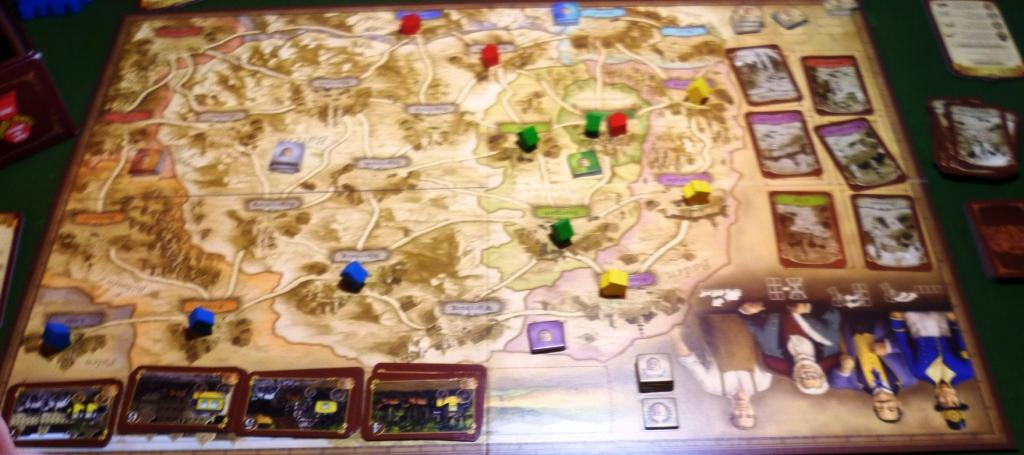 Thurn & Taxis early in the game