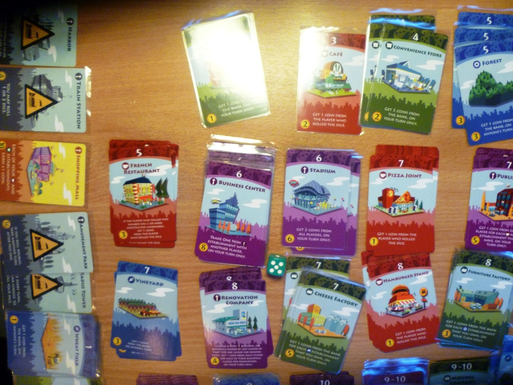 Machi Koro with an awful lot of choices
