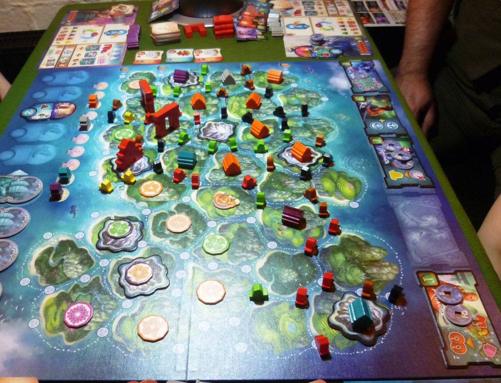 Yamatai even later in the game