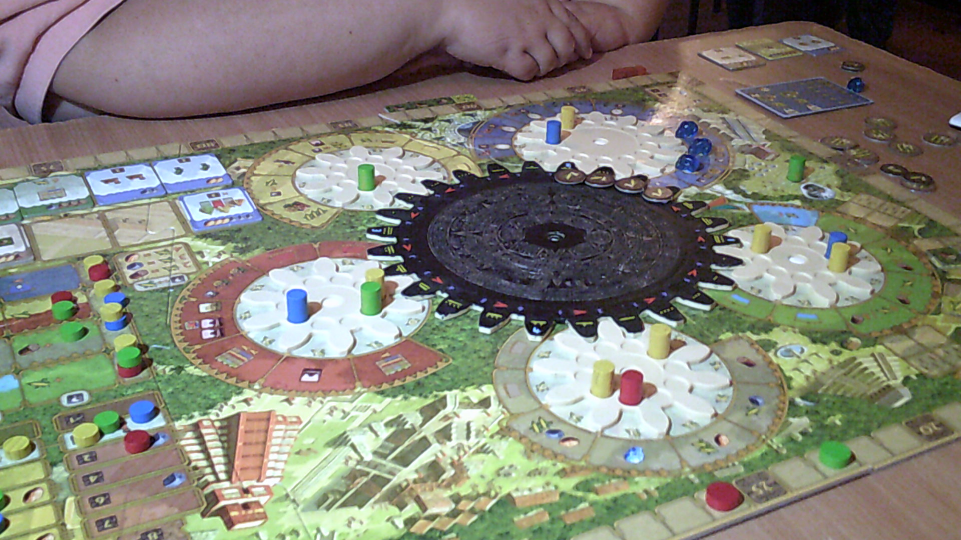 Tzolkin - which I lost by 1 point !!!