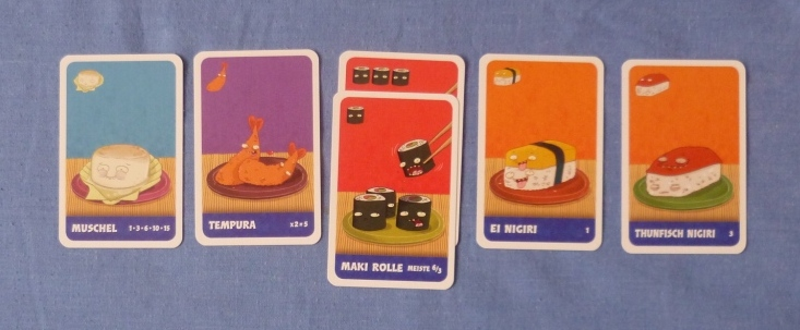 Sushi Go! - not a high score here.