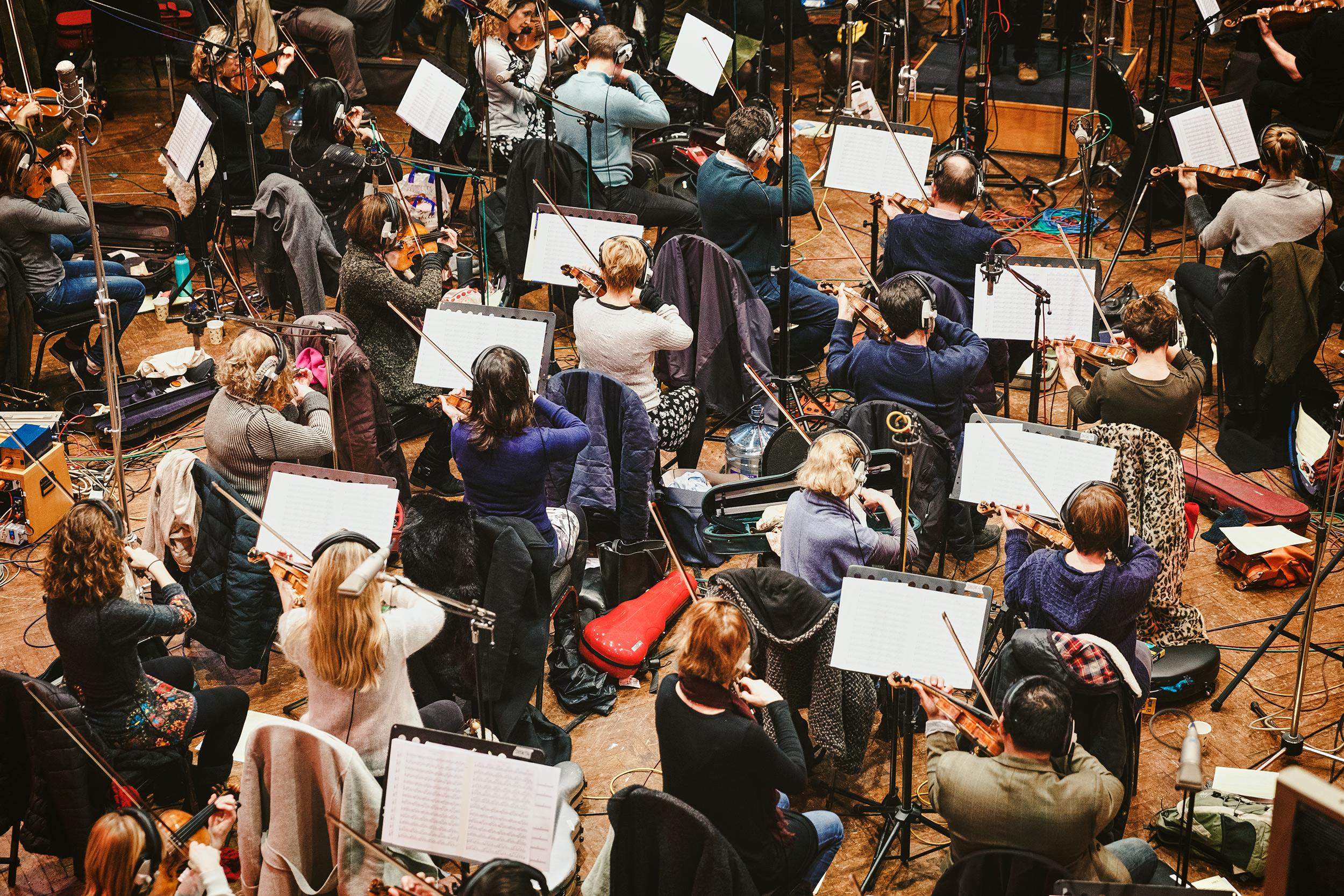 Hans Zimmer Strings | Air Studios