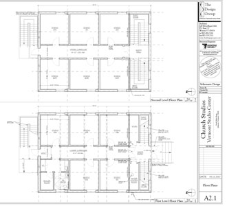 View the blueprints for the Church Studios restoration plan (PDF)