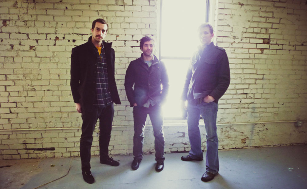 Imbue founders and principals Matt Swindel, Chris Talvy, and Hunter Gundersen in their Salt Lake City architecture studio