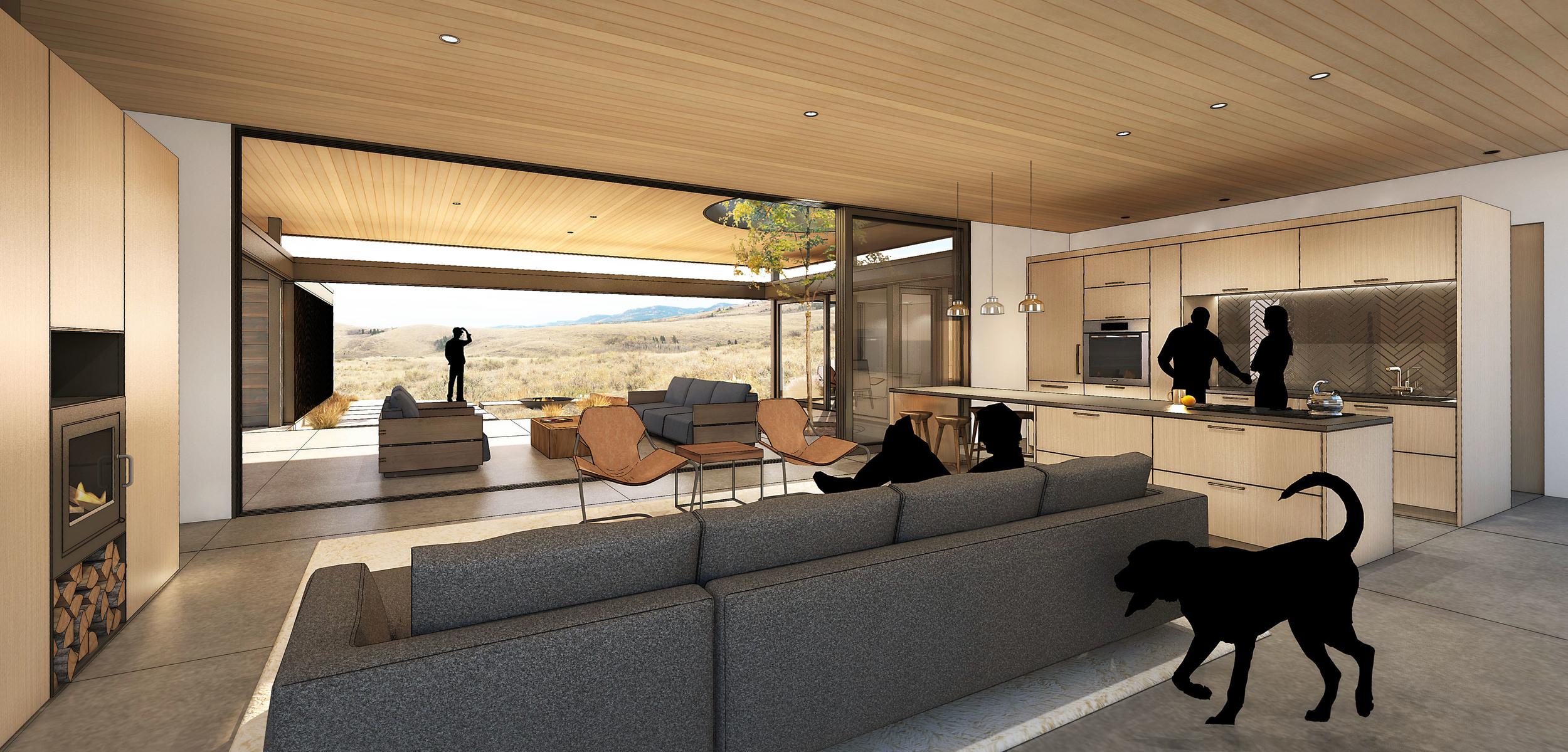 Main Living Space - Interior