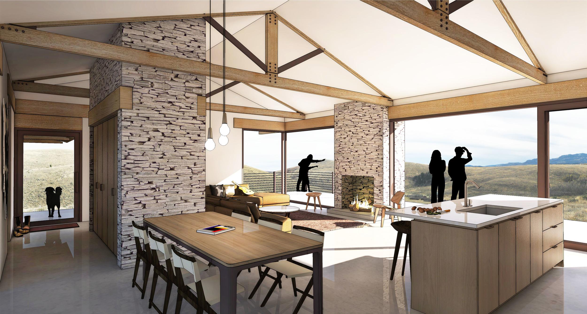 Main Cabin -Interior