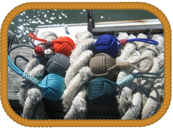 Sailor Craft Knots items are handcrafted in keeping with this historic tradition.