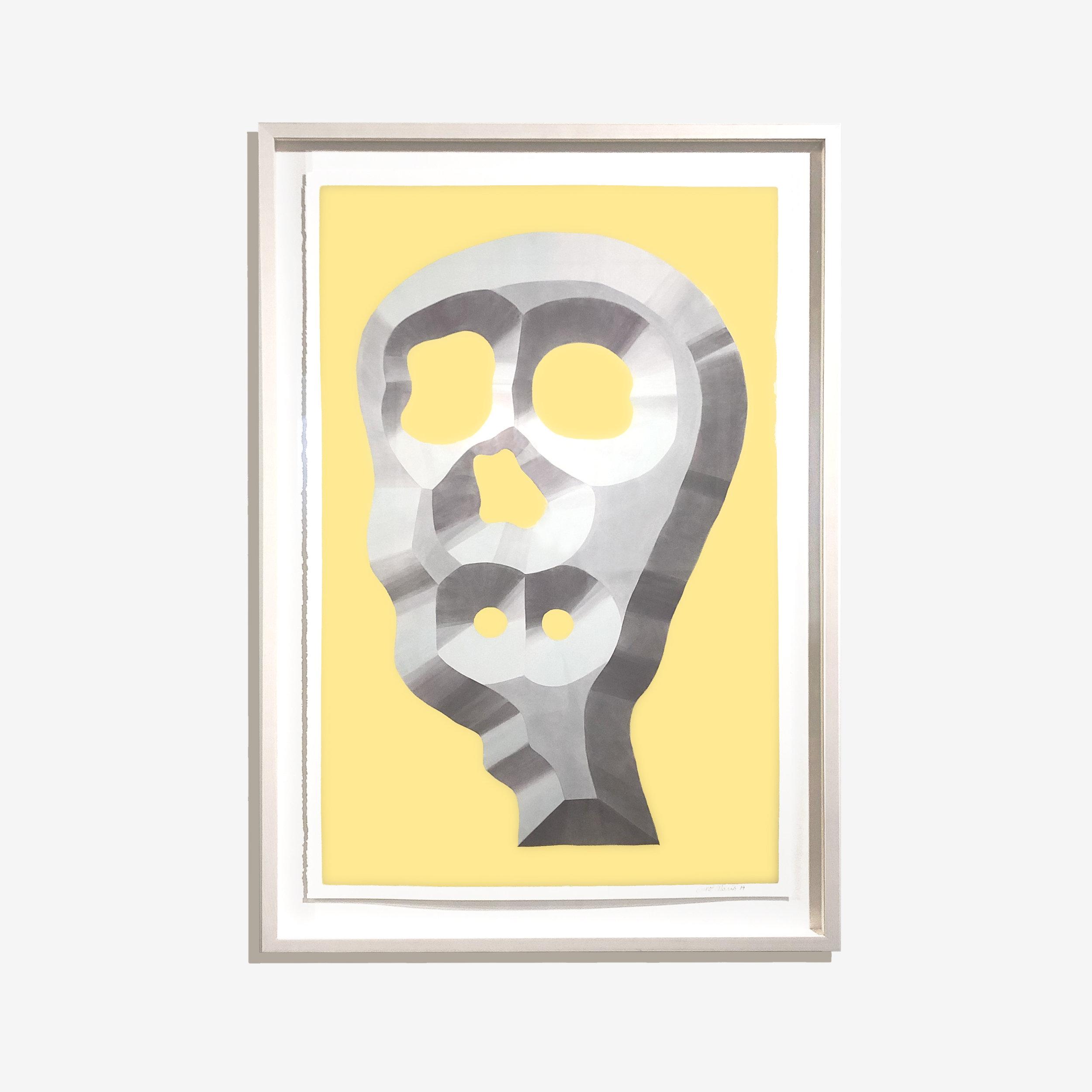Psychopomp - Pastel on paper