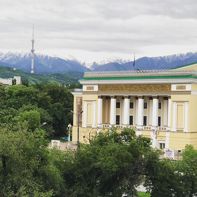 Good morning, Almaty! Looking forward to our week together!