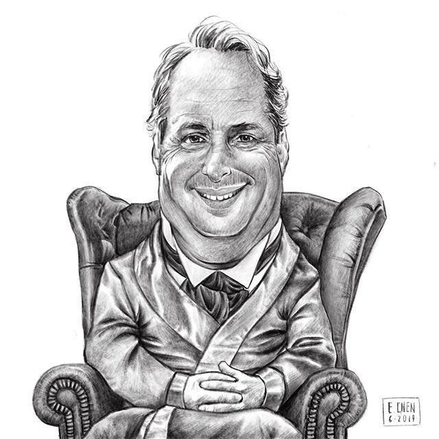 Working on some caricatures this month. Reminded of how funny #jonlovitz is while working on this request. . . #snl #MasterThespian #celebrity #celebrityportrait #artistdad #caricature #procreate #procreateart #digitalillustration #drawing #sketching #sketch #art #sketchoftheday #instaart #sketchbook #portraits #caricaturerequests #drawingpeople #mrgoinky