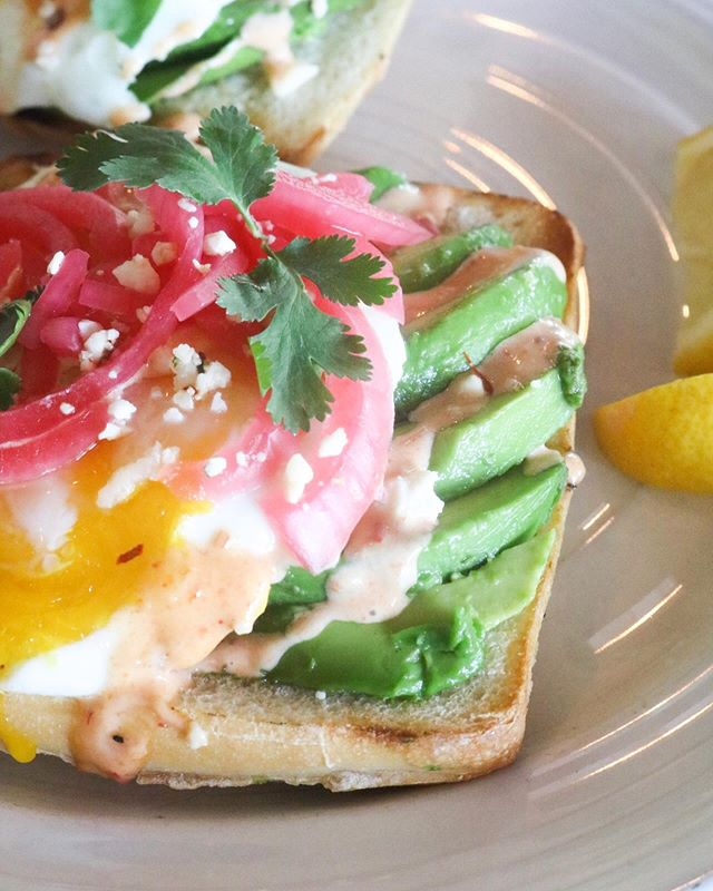 Brunch is calling 📲, and she brought 🥑 Avocado Toast 💥  Tickets still available www.maverickscantina.com/cocktail-Class