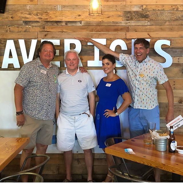Miracle at Mavericks event is here!! Come out and support your local Charity Guild of Johns Creek @charityguildjohnscreek! A HUGE thank you to Robert Jenkins for winning the 50/50 raffle, then donating his winning BACK to the charity guild - WOW! #maverickscantina #charityguildofjohnscreek