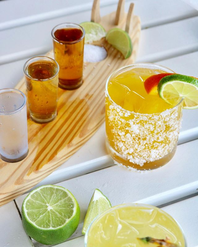 Happy NATIONAL TEQUILA DAY! 🎉🍹 $6.50 Mavericks Margaritas, $3 house tequila shots, + a crowd favorite - the Passionfruit Margarita! Check your email for an exclusive discount valid today only 😏  #nationaltequiladay #johnscreek #atlantaeats #otpeats
