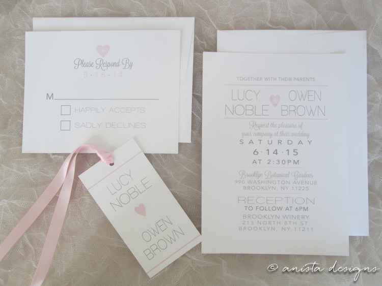 Lucy Invitations   - from $7