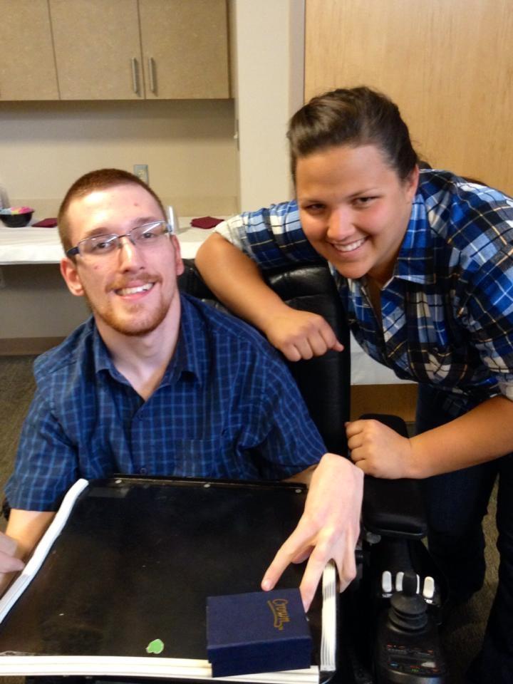 One of my mentors,Justina, and I at RIC graduation.