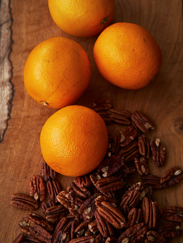 FT Honey & Co. pecan orange & chocolate slice, Patricia Niven