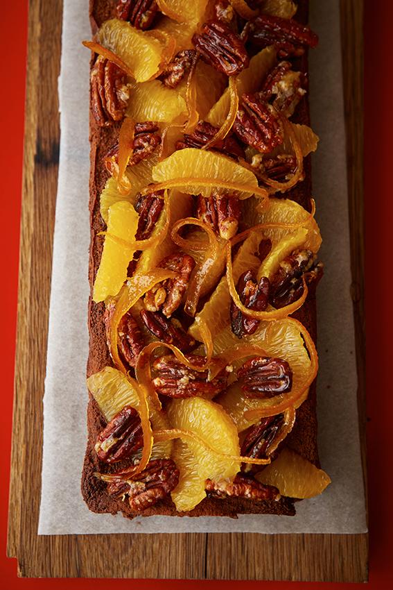 FT Honey & Co. Pecan, Orange & Chocolate Slice, Patricia Niven