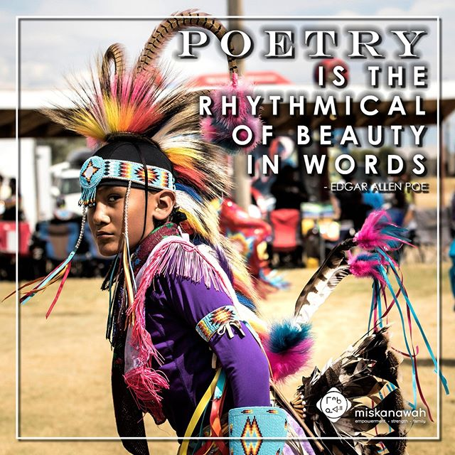 First Wednesday in October is Random Acts of Poetry Day! Today, take time to experience the perception of the rising and falling rhythms of the spoken or written word.  #Miskanawah #Indigneous #yyc #nonprofit  #RandomActsofPoetryDay #wednesdaywisdom