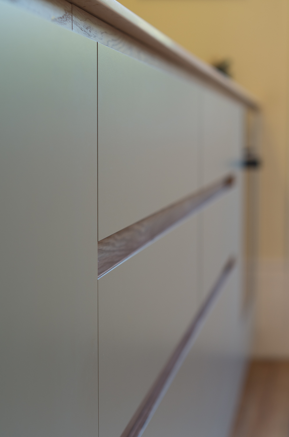 Copy of Crouch end kitchen handle less design