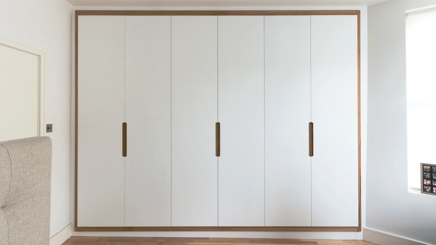Langham rd bespoke fitted wardrobes with solid oak frame powell picano