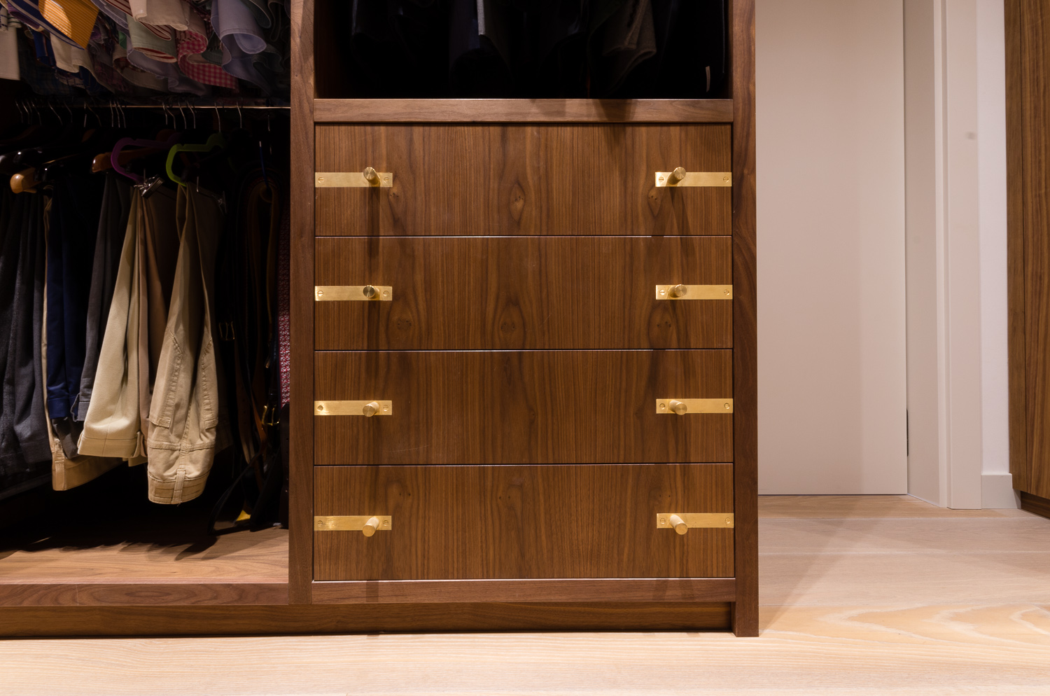Bespoke custom furniture  - Warwick Avenue Dressing Room