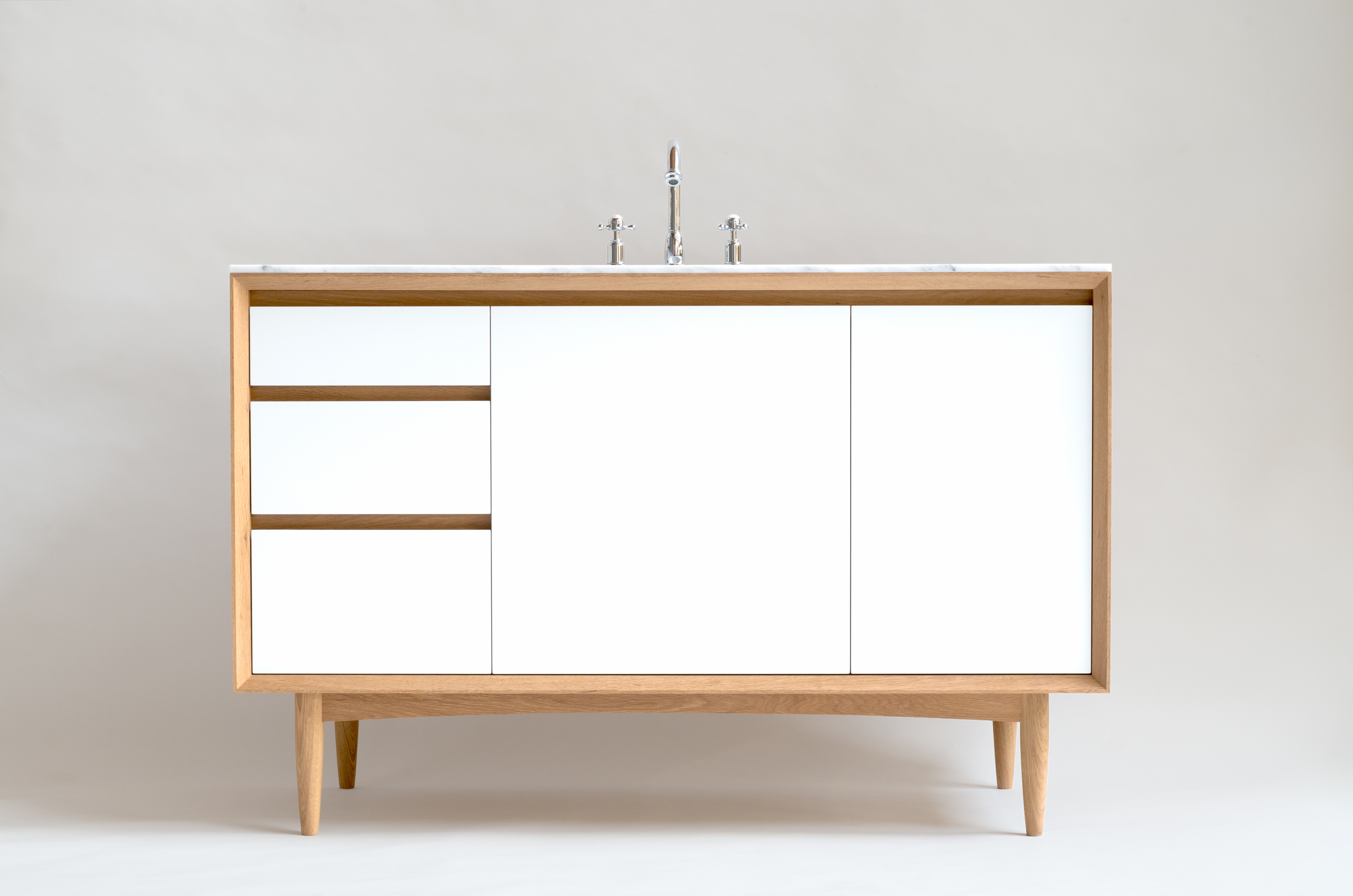 Copy of BESPOKE MID CENTURY VANITY UNIT