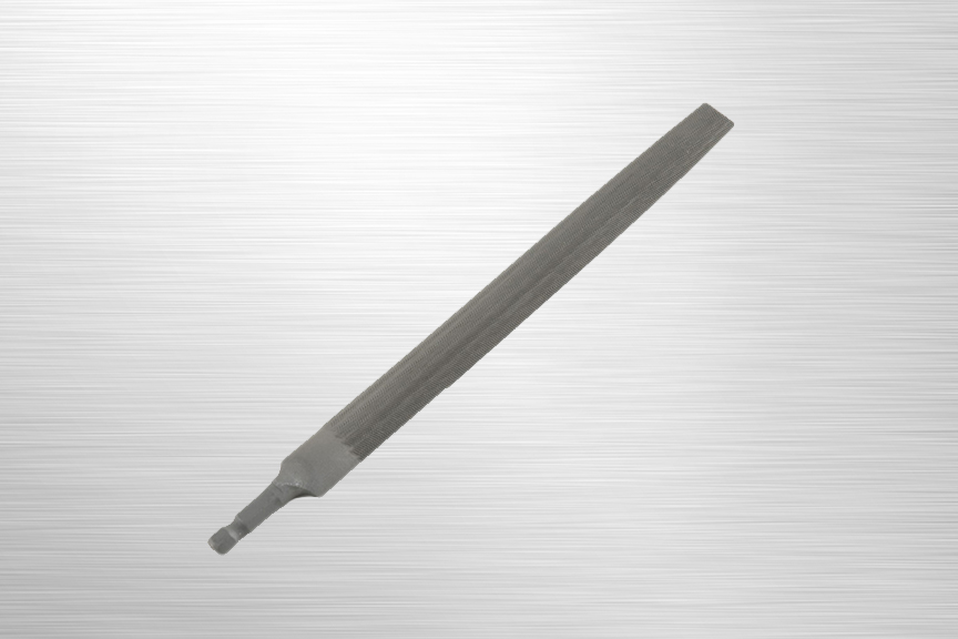 SpeedHex 8 inch Half Round Bastard File    SH8HR   SpeedHex 8 inch half round file is made of ANSI rated carbon steel. The 5/16 inch hex shank ends fit into multiple SpeedHex handles.    Purchase on Amazon