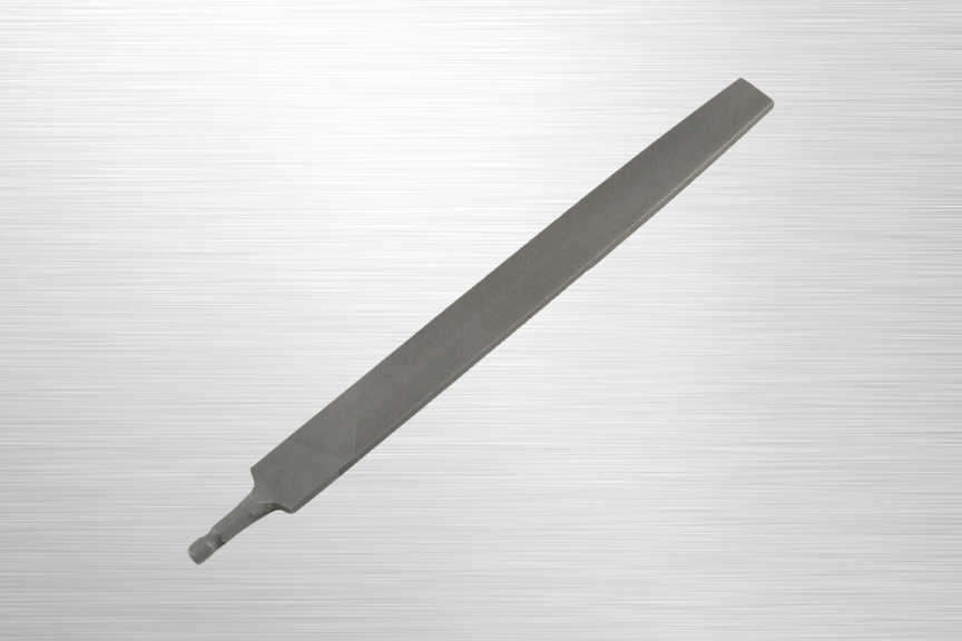 SpeedHex 10 inch Flat File    SH10F   SpeedHex 10 inch flat file is made of ANSI rated carbon steel. The 5/16 inch hex shank ends fit into multiple SpeedHex handles.    Purchase on Amazon