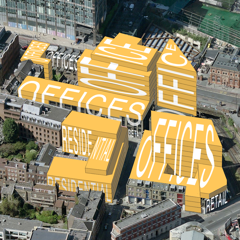 British Land want to increase the volume of the buildings on the site by more than 50%
