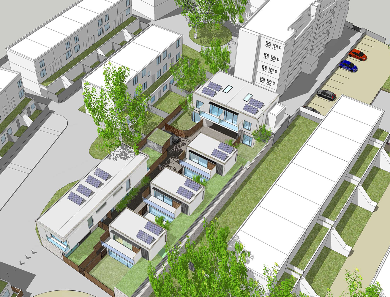 Parkhurst Garage Proposed Scheme