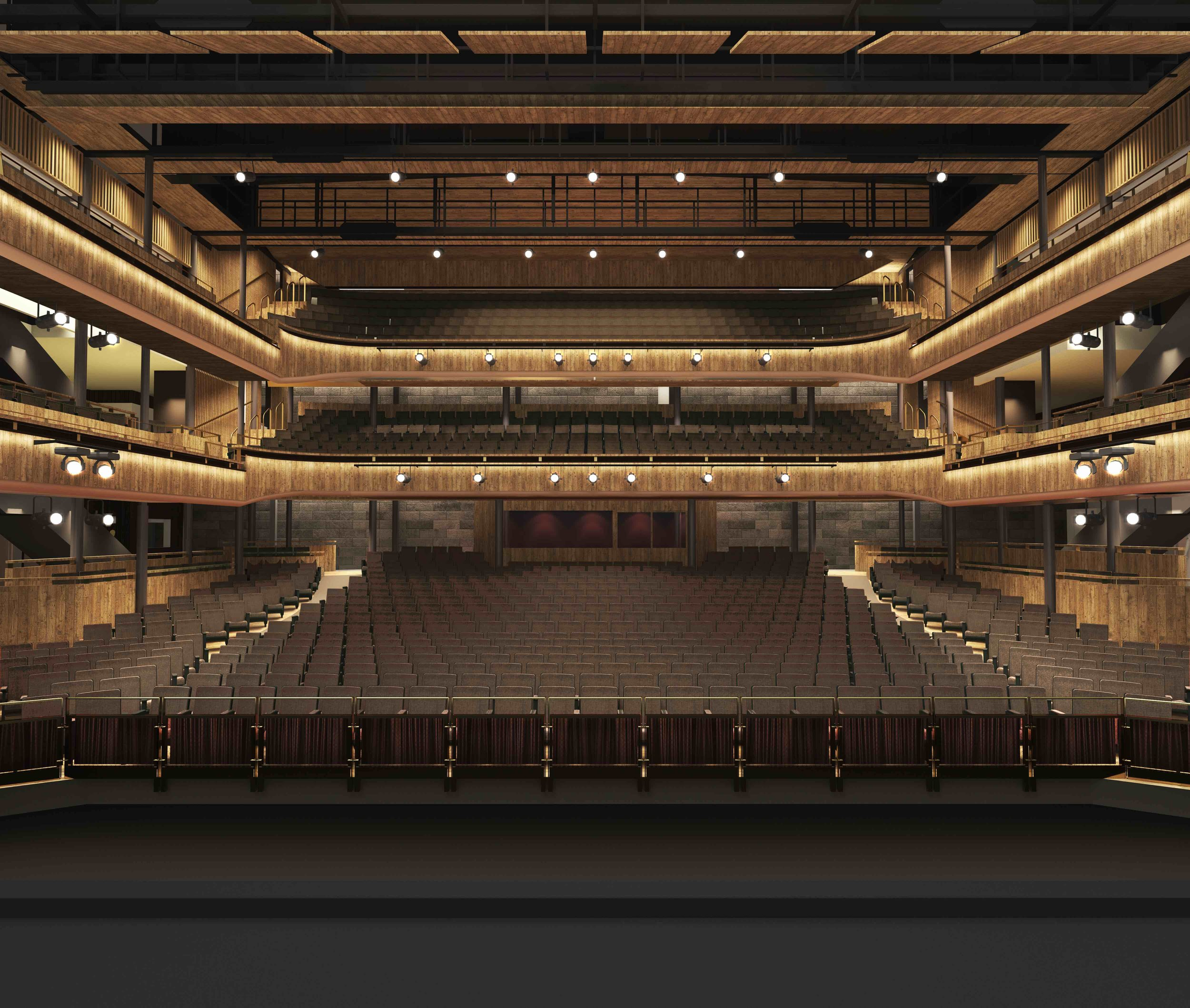 New auditorium for Hall For Cornwall designed by BFF