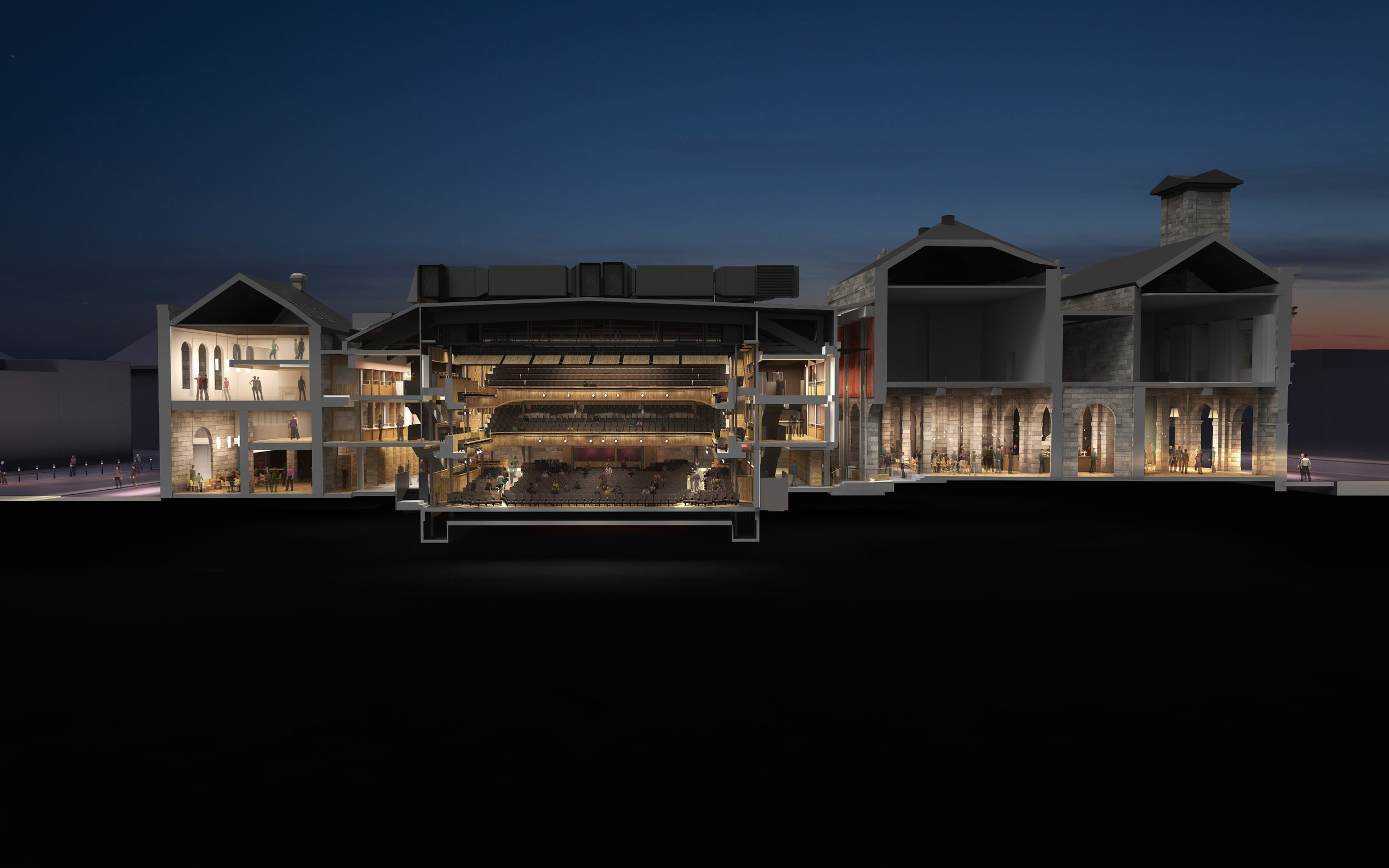 New vision of Hall For Cornwall by BFF