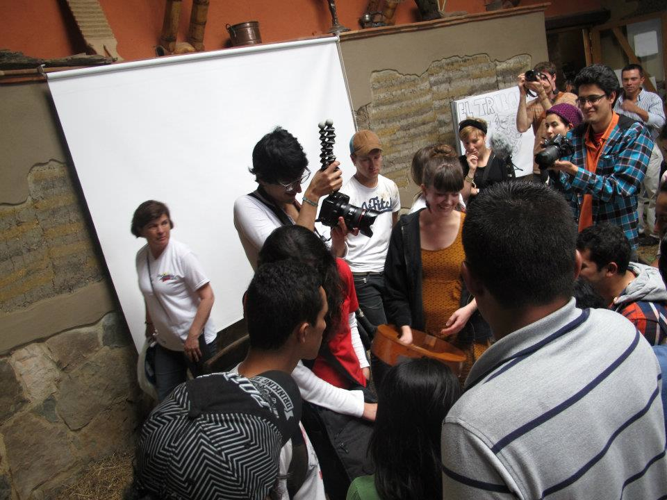 "Concert at the event ""La Minga"" in Bogota, Colombia"
