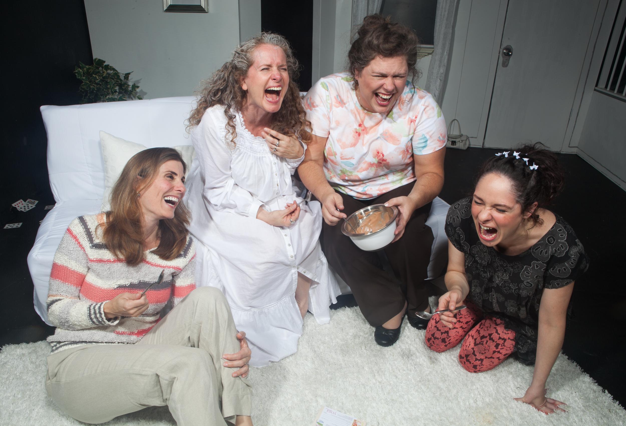 Susan Steinmeyer (Lane), Laura Sturm (Ana), Deborah Hearst (Virginia), and Jaimelyn Gray (Matilde)