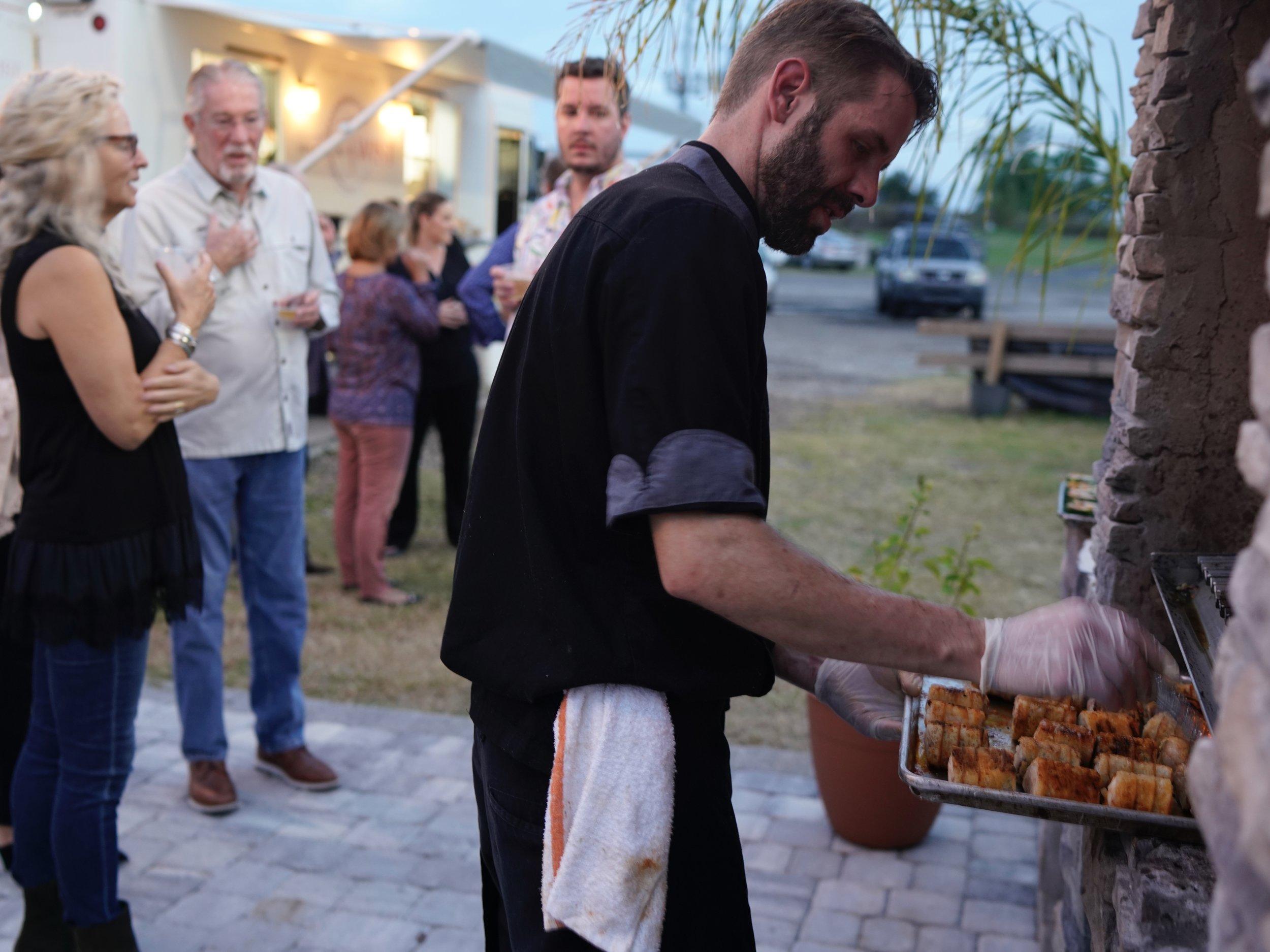 Chef Matt Brown at Urban Asado's - Chefs Collaboration – Version 2