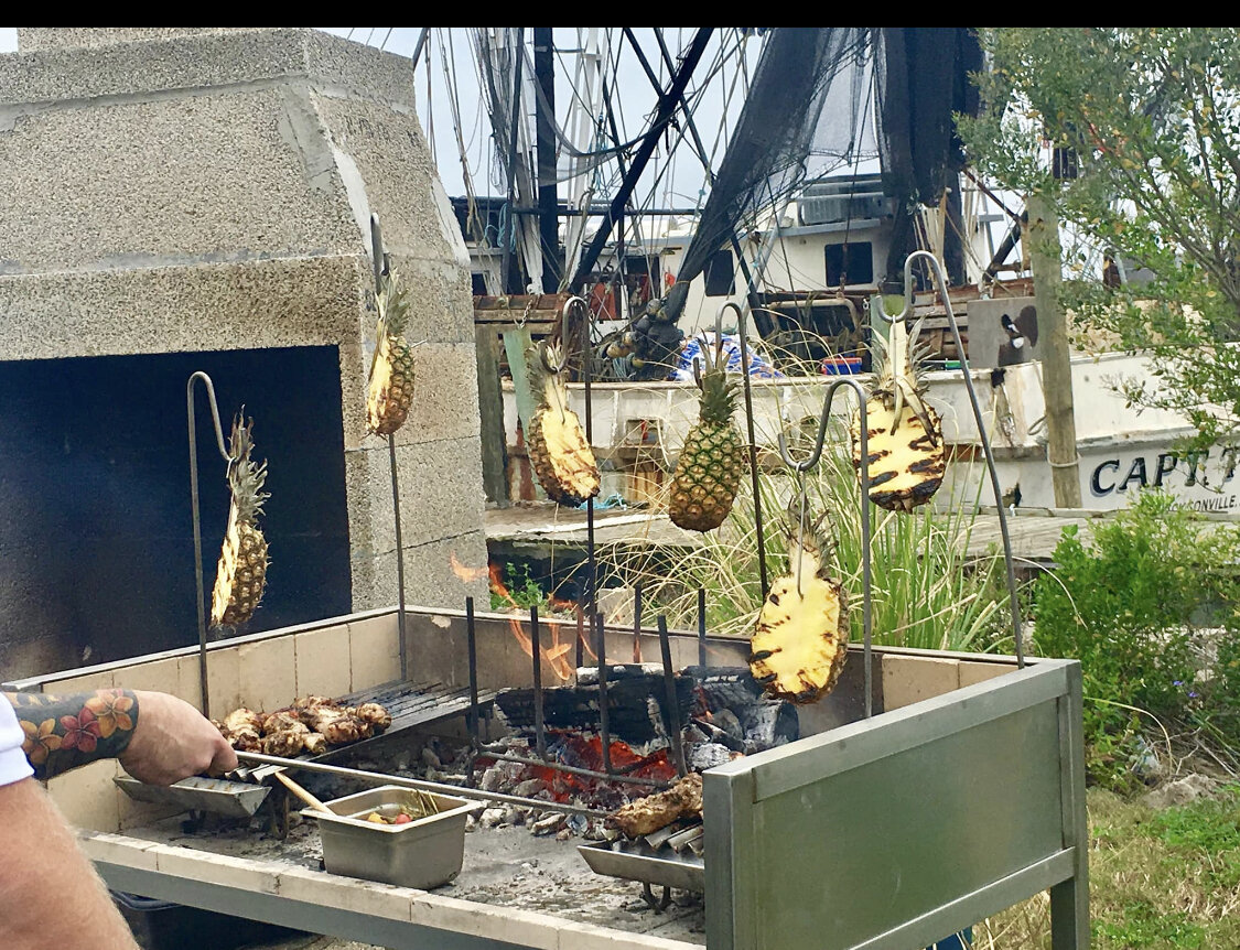 Fire Roasted Pineapple and Jerk Chicken.JPG
