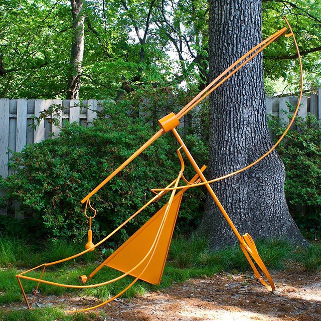 "Hey followers! Please consider voting for my sculpture ""Lift"" by April 30th. Link to vote is in my bio! This orange sculpture, ""Lift"", is currently installed in Rocky Mount, NC at the Imperial Centre for the Arts and Sciences. It is in a year long exhibition called Salmagundi XXII. There is a People's Choice award I am eligible for, if you have a minute and are interested in supporting my efforts, again the link to vote is in my bio. There are several other good works in the competition, so it is your call, but mine is the orange one called ""Lift"". Thanks in advance for your support! 🍊🧡🔶 #sculpture #steelsculpture #publicart #publicsculpture #contemporarysculpture #internationalsculptureday #sculptureoftheday #sculpturenetwork #greensboroartist #ncartist #womensculptors #brittanysondberg #isday"