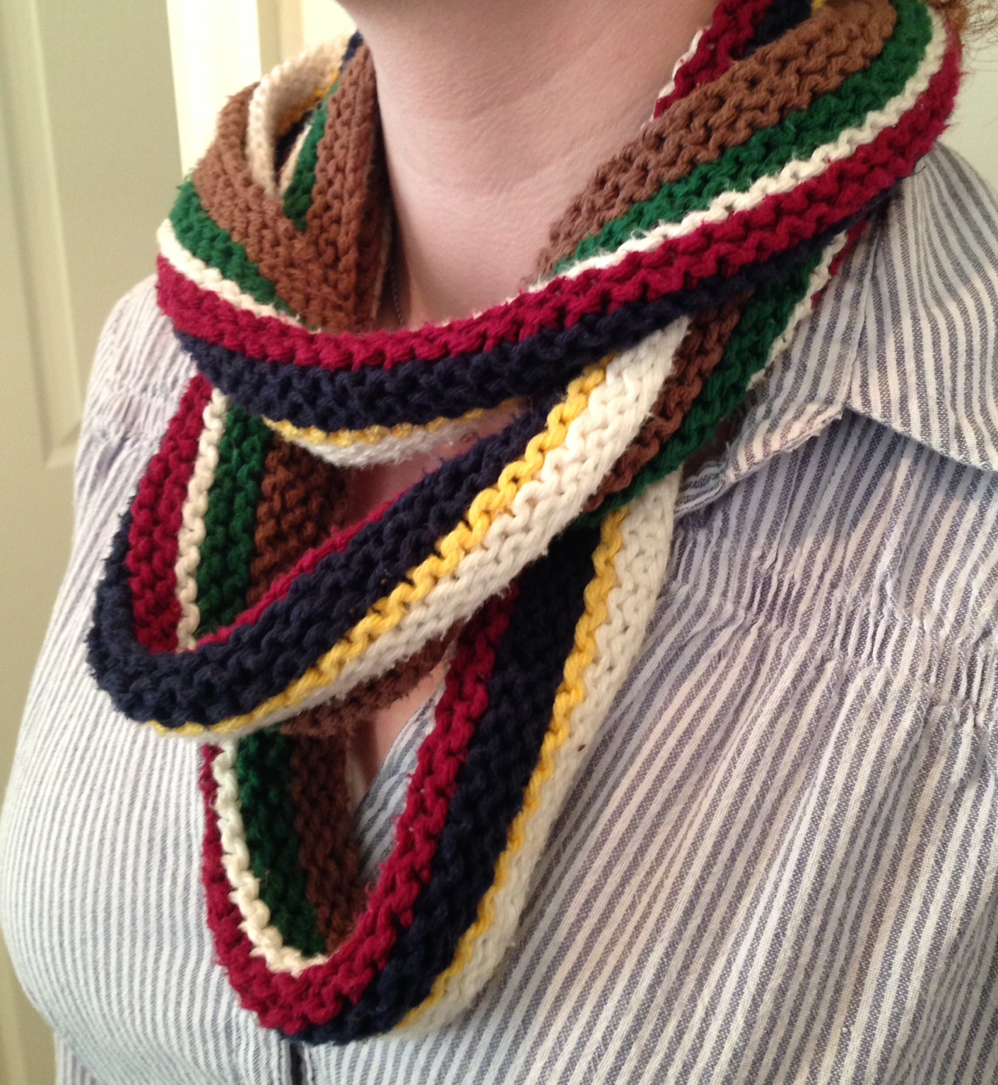 This one is so long it wraps 3 times. Pattern for this one: coming soon!