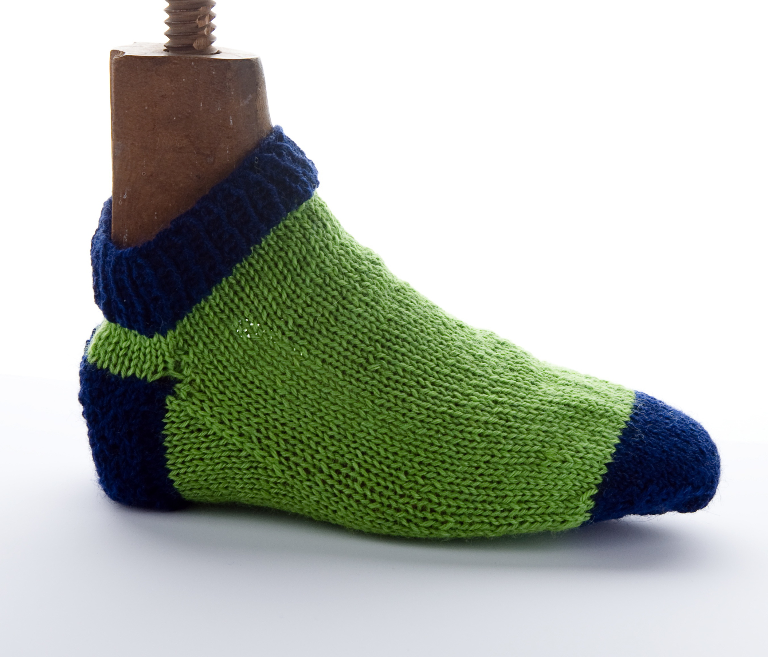 (Image by Sean Money, The Charleston Museum) (Sock by Tamara Goff)