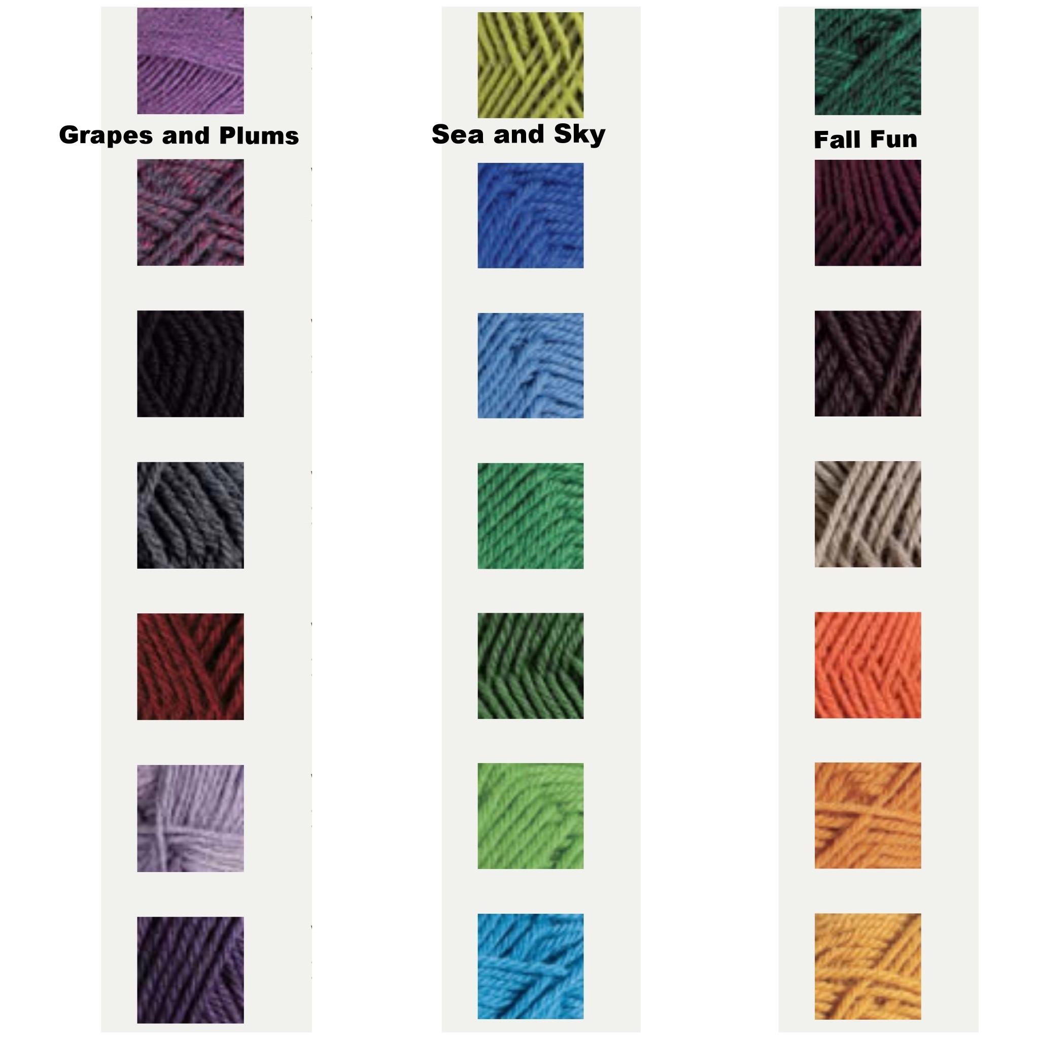 Your beautiful yarn options!