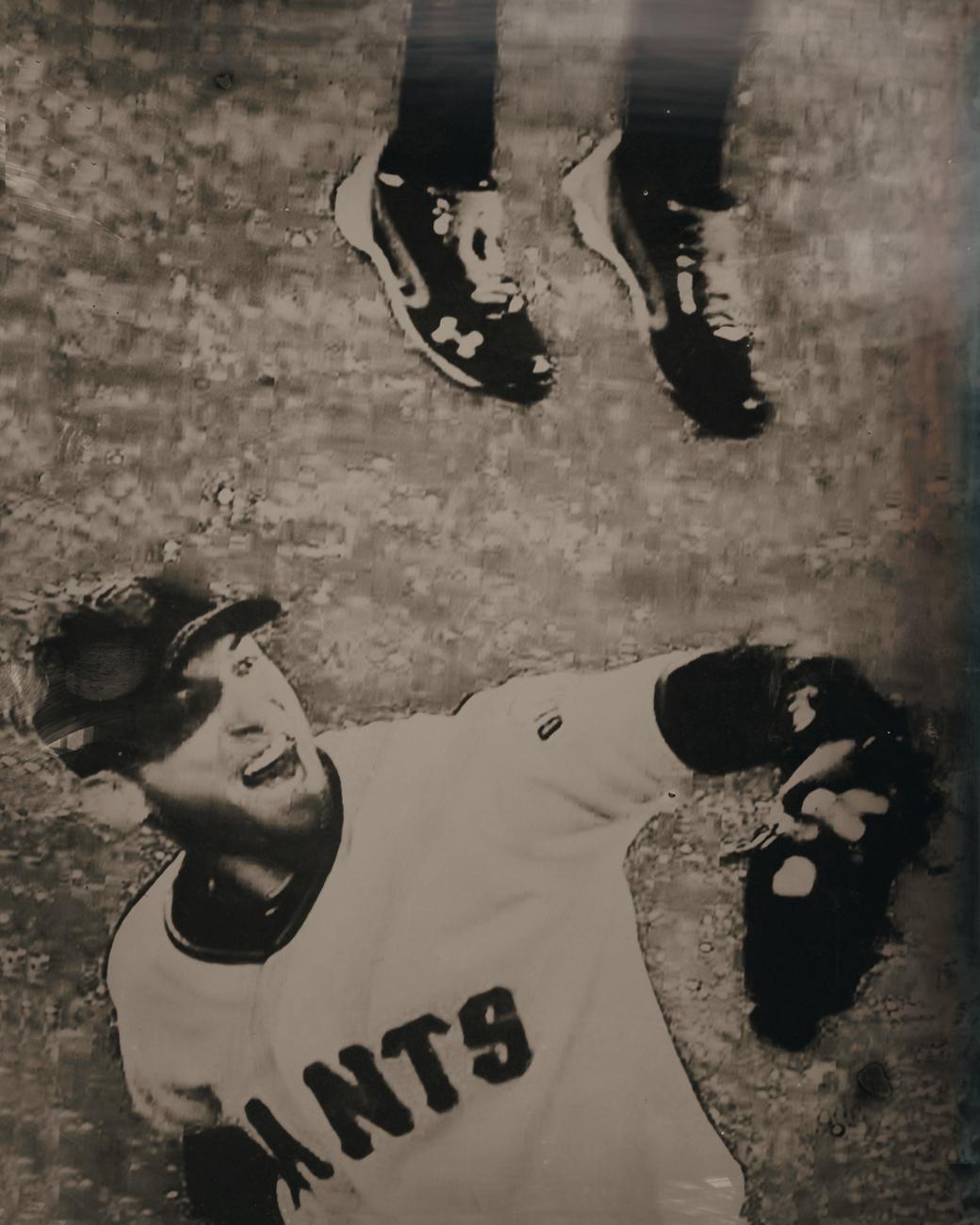 165573 SF Giants Tintype