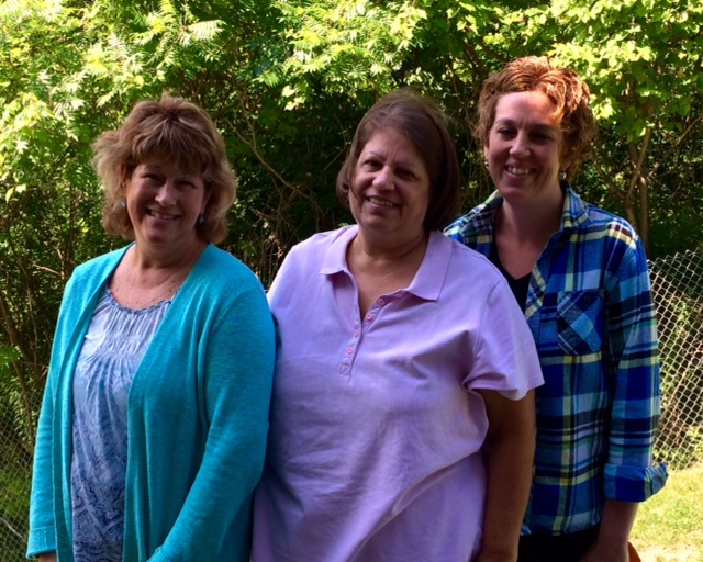 L to R: Terri Hage, Laurie Brown, Alissa Nelson