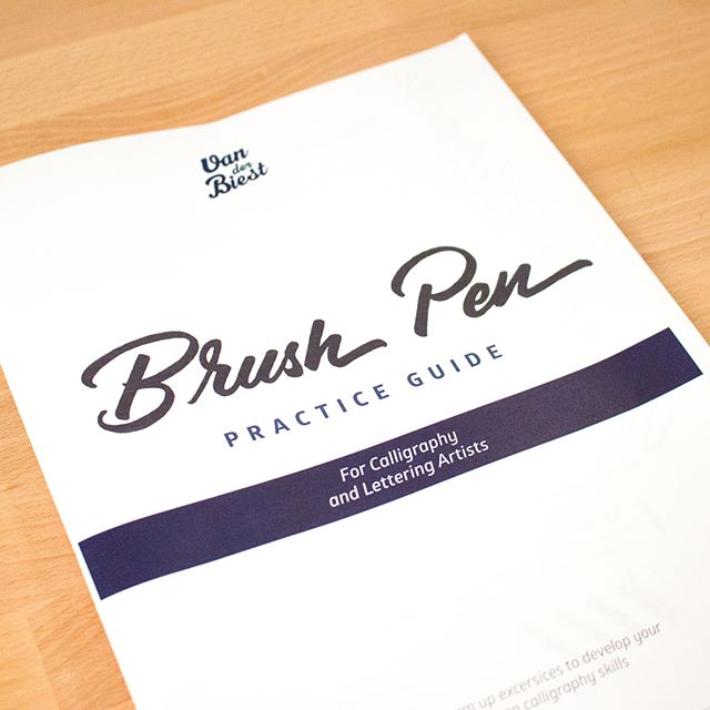 Just wanted to give a big THANK YOU to everyone that has signed up to receive their FREE Brush Pen Practice Guide.