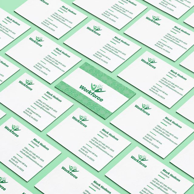 Small part of a bigger branding project I developed a few months ago for a local staffing company