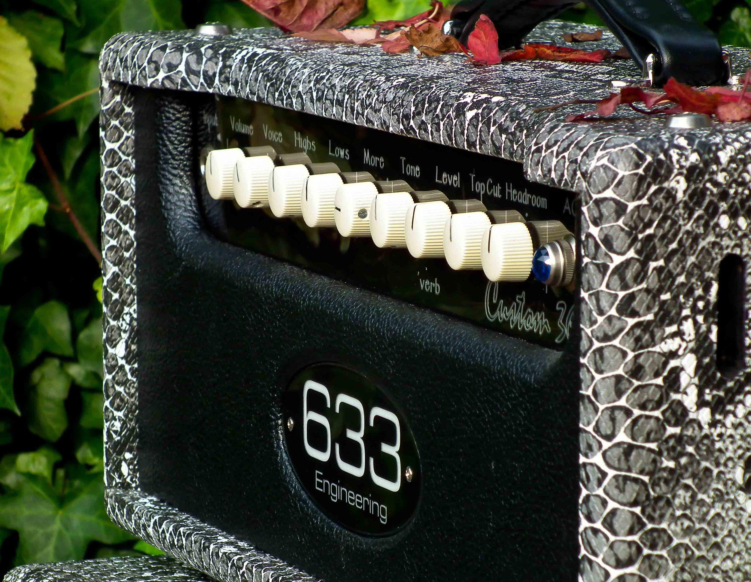 Custom 36 in Black Snake