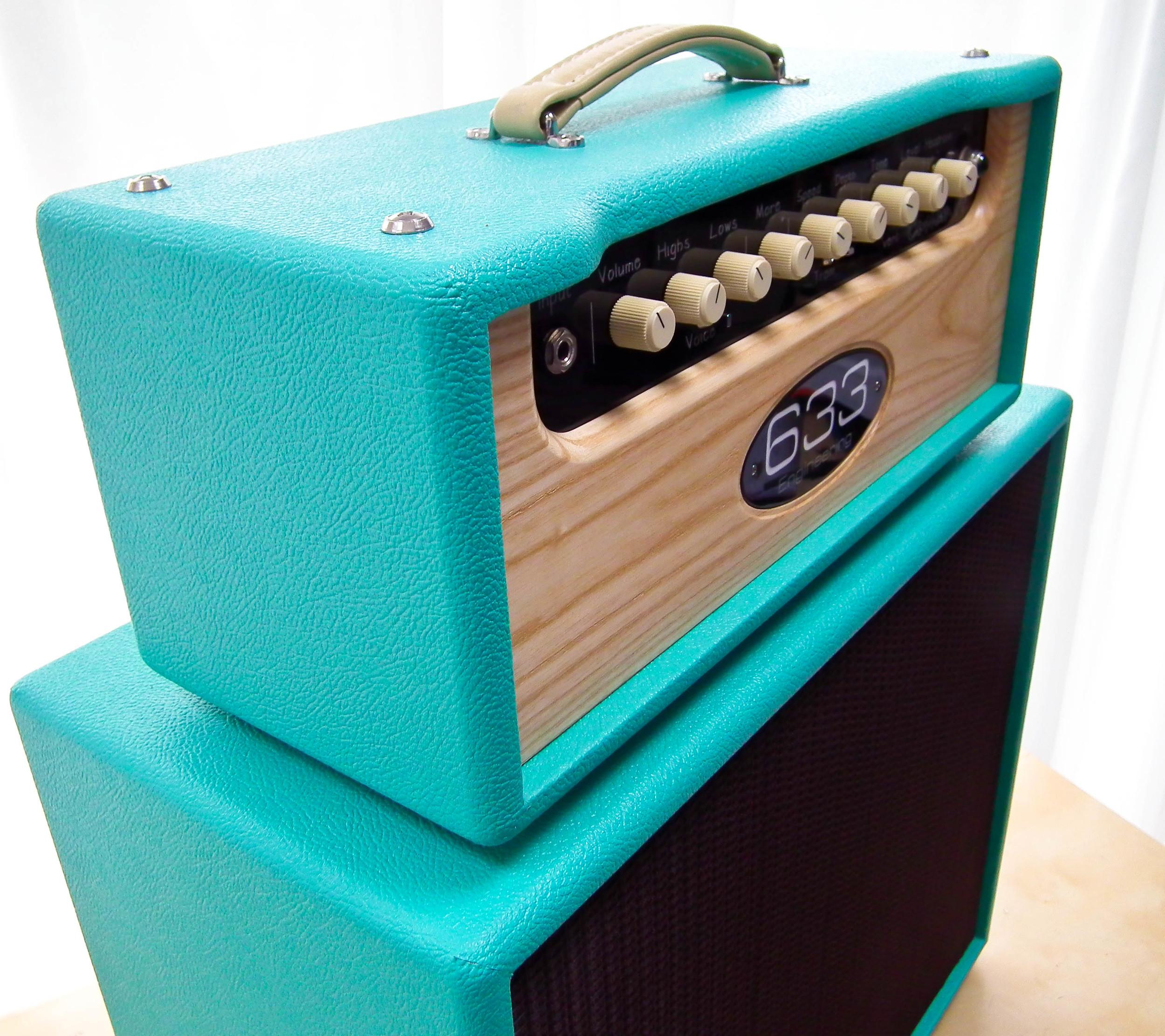Custom 44in Teal Blue